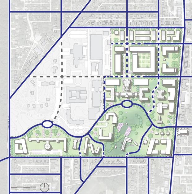 Extend the street network